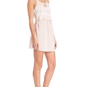 For Love and Lemons Sienna Pink Dress